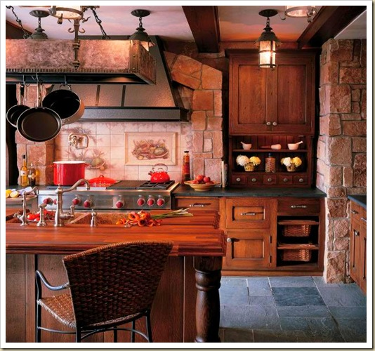 Tuscan Style Kitchen Remodel