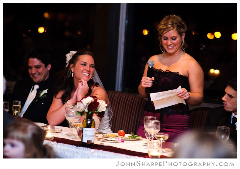 Town and Country Club in St Paul, MN Wedding Reception Photographer