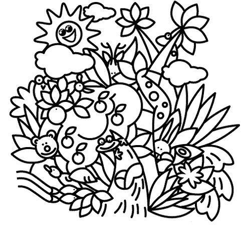 Dibujos De Flores Flores Para Colorear