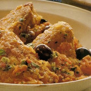 Poulet à la Provençale - Chicken Provence Style