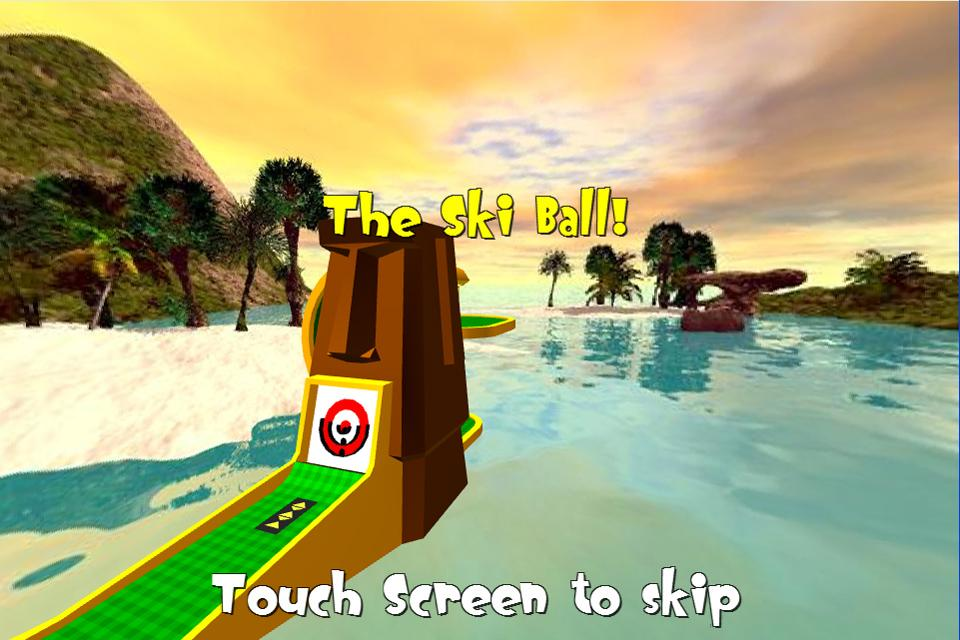 Tiki Golf 3D FREE - screenshot