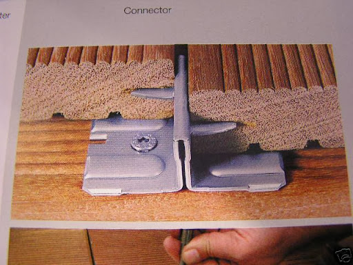 igel v2 befestigungssystem f r bangkirai garapa ebay. Black Bedroom Furniture Sets. Home Design Ideas