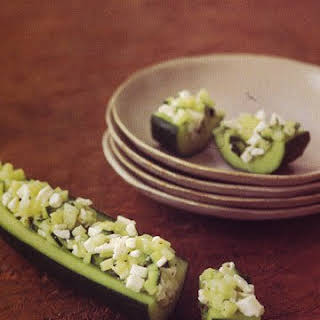 Cucumber Tapas.