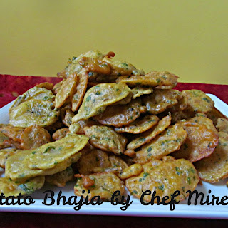 Kenyan Potato Bhajia