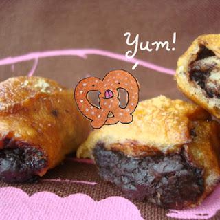 Chocolate-Filled Pretzel Nuggets