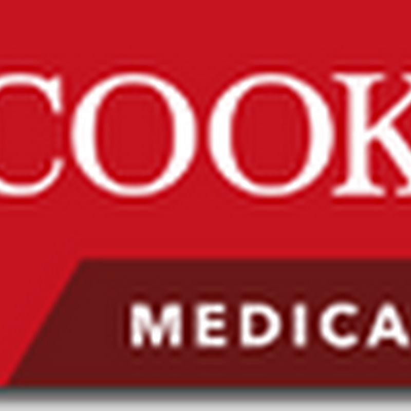 Cook Medical Unveils MicroWires to support Leg Therapy - Peripheral Arterial Disease