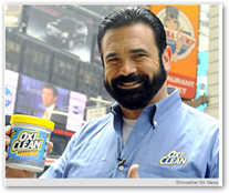 Billy Mays from Television Commercials for OxiClean Dies from an Apparent Heart Attack - Medical ...
