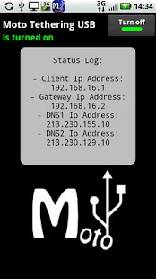 Moto Tethering USB ★ root - screenshot thumbnail