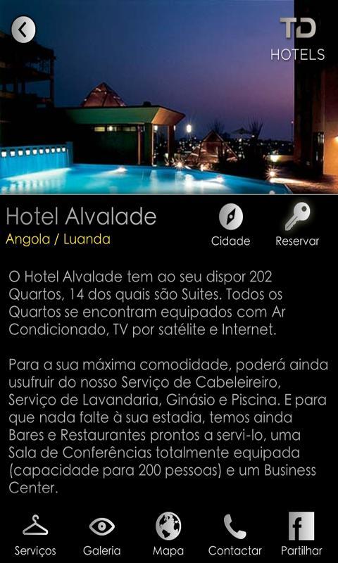 TD Hotels- screenshot