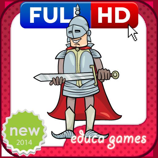 教育の着色ゲーム:ロイヤリティ LOGO-HotApp4Game