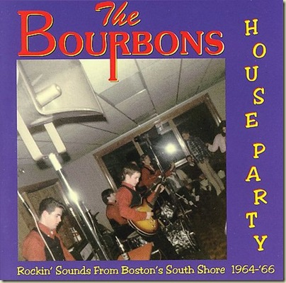 Music Archive: THE BOURBONS -House Party( Rockin' Sounds