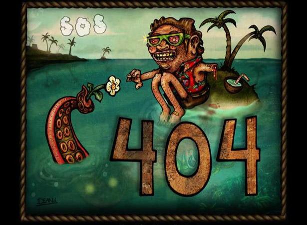 Ошибка 404: Изящное решение - «Дизайны сайтов»
