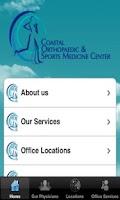 Screenshot of Coastal Orthopaedic