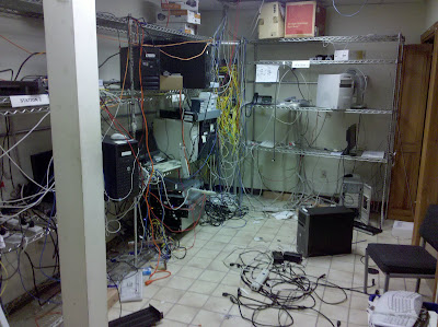 Server Room from Hell