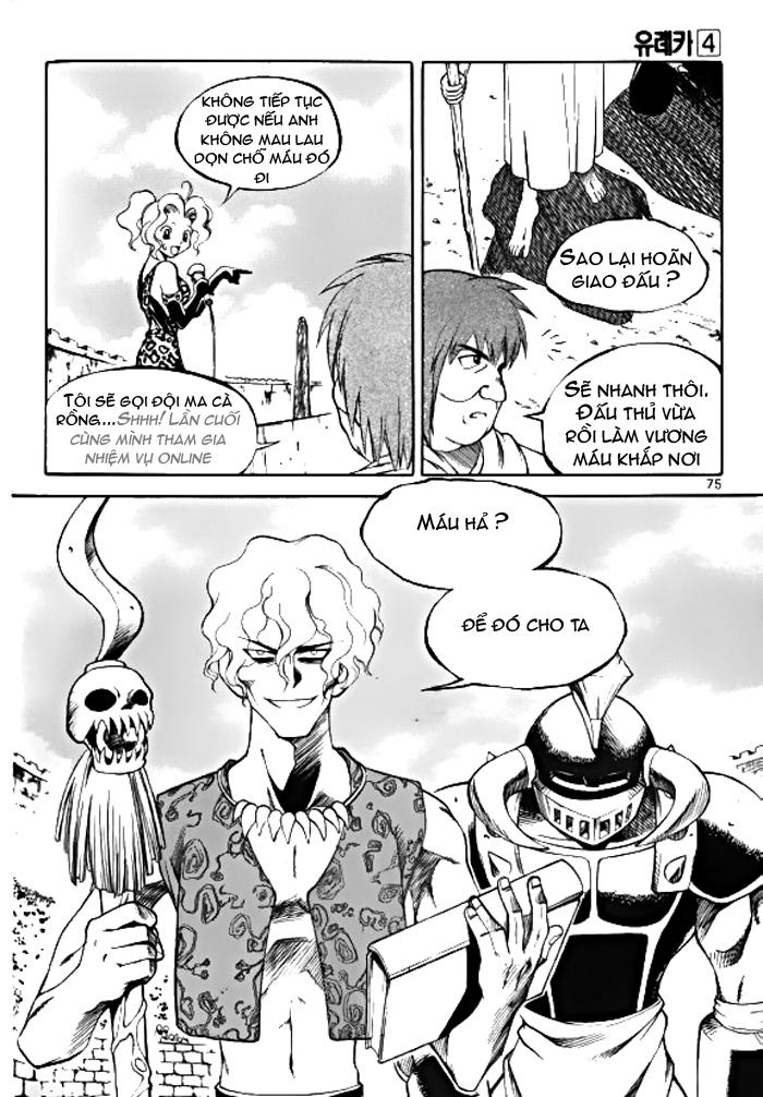 Thế Giới Đã Mất - Lost Saga - Yureka Chap 024