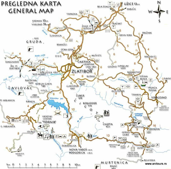 karta srbije zlatibor Turistička agencija ANITOURS – Zlatibor | Zlatibor karta srbije zlatibor
