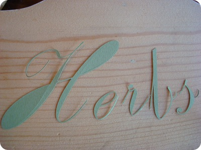 Using craft cutter for stencils