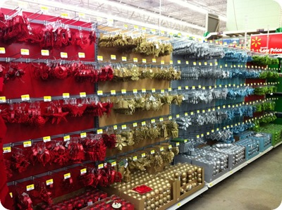 ever run into walmart for anything mistake number two was making a quick swing by the christmas stuff have you seen their ornaments this year - Walmart Christmas Decorations