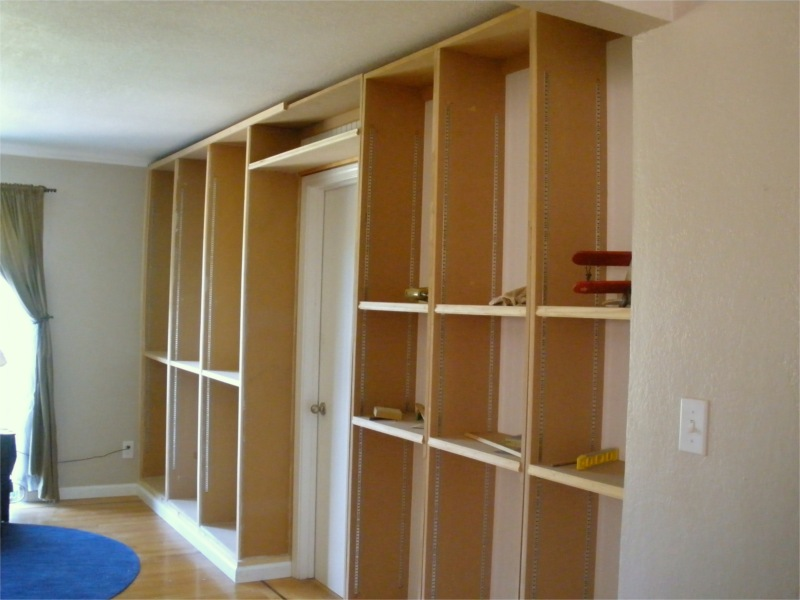 Built In Bookcase Routing My Own Trim