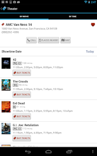 Moviefone - Movies & Showtimes - screenshot thumbnail