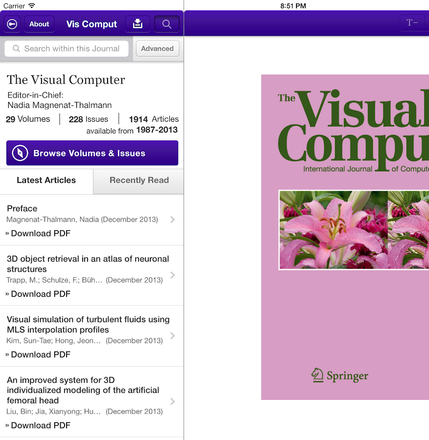 The Visual Computer- screenshot
