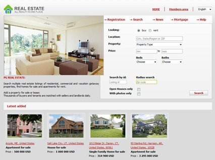 Real Estate Online Business Solution