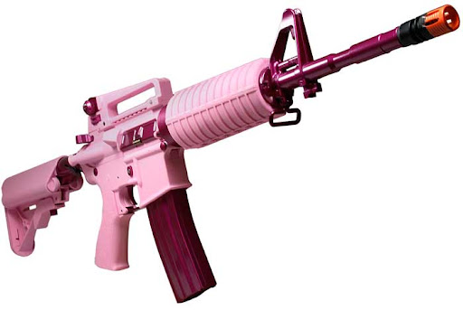 Airsoft Guns, G&G Armament Femme Fatale 16 Carbine,Airsoft M4 Tactical Carbine,Airsoft AEG, automatic electric gun, AEG, M4, Airsoft carbine,pyramyd air, airsoft obsessed