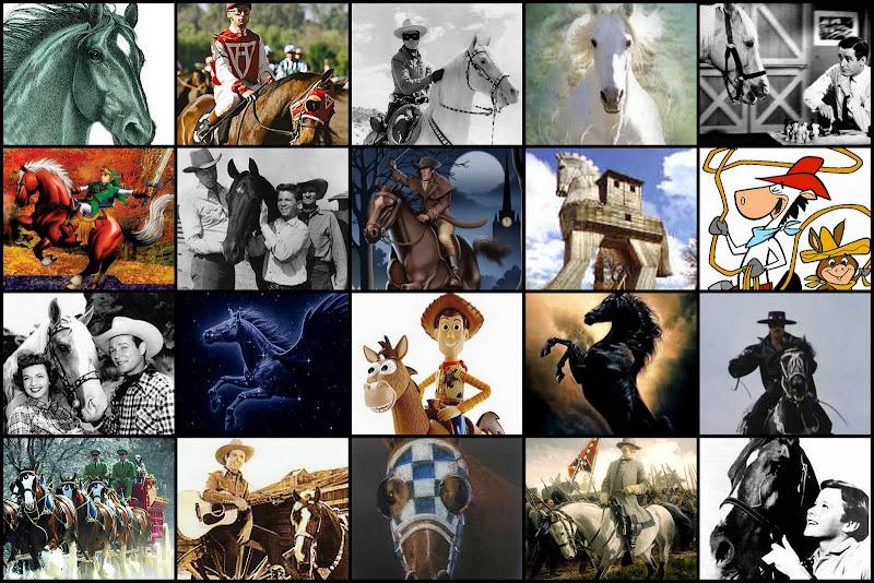 Famous Horses (images) Quiz - By googlebird