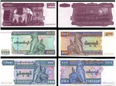 New Myanmar 5000 kyat