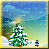 Winter Snowfall Full Wallpaper