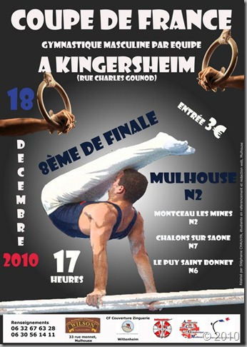 Coupe de France gymnastique masculine par equipe
