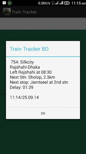 Bangladesh Train Tracker