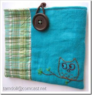 tamdoll's owl pouch