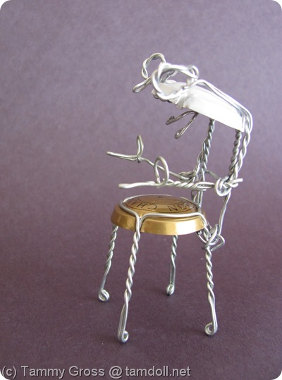 Tamdoll's Champagne Chair