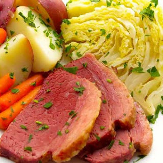 Classic Corned Beef and Cabbage with Horseradish Sauce