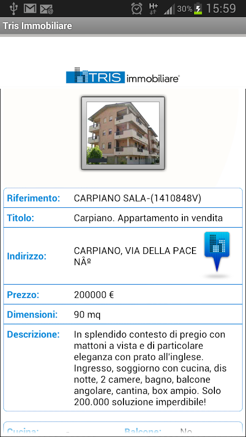 Tris Immobiliare - screenshot