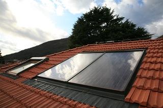 una casa di CLASSE A: Il solare termico
