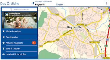 Screenshot of Das Örtliche Telefonbuch