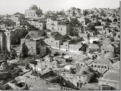 Jewish Quarter from Temple Mount, mat04722