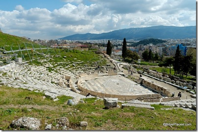 Athens theater of Dionysus, tb031806337