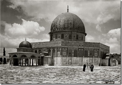 Dome of Rock, with Dome of Chain, mat03221