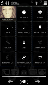 YGX-Nightmare CM11 Theme screenshot 1