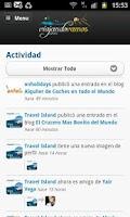 Screenshot of Red Social de Viajes