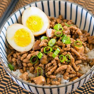 Taiwanese Minced Pork Rice