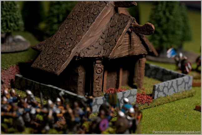 Field of Glory Viking Camp - Stave Church