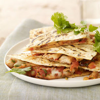 Chipotle Pork Quesadillas.