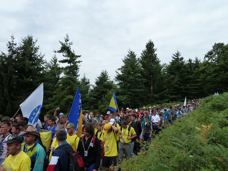 Marchers set off on day 1