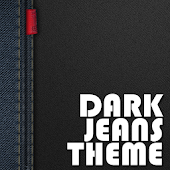 Dark Jeans Go Launcher Theme