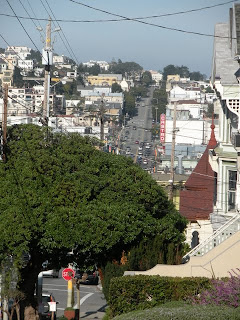 Dolores Heights Stairway Walk in San Francisco