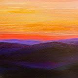 zonsondergang Laplandse toendra